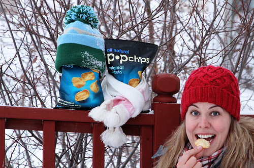 Vote for me? popchips!