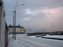 Snowy Seafront