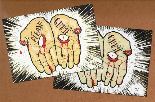 """Gambling Christ"" prints"