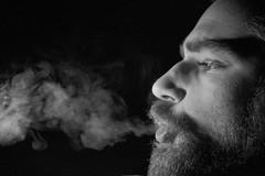 SmoKing (svaboda!) Tags: bw portraits smoke bn ritratti biancoenero fumo