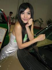 EVS 25 auto show model (zikay's photography(no PS)) Tags: girl model exhibition    beautyshoots