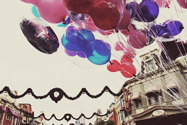 balloons over Main Street