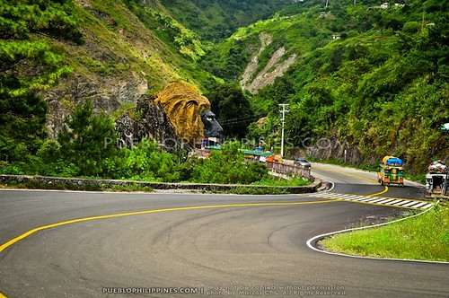 Lions Head at Kennon Road in Baguio