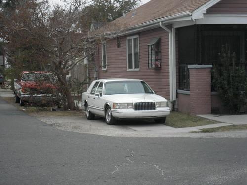 Sidewalk driveway...