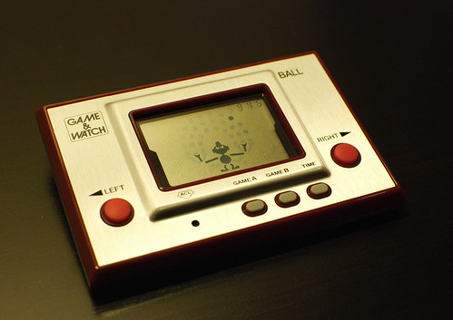 Nintendo Game&Watch Ball NGW-001, 30th Anniversary edition (front)