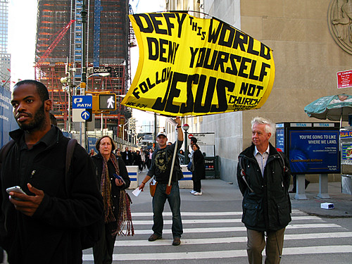 Defy This World Deny Yourself, NYC by Karen Strunks