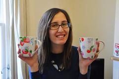 Cath Kidston mugs for me!