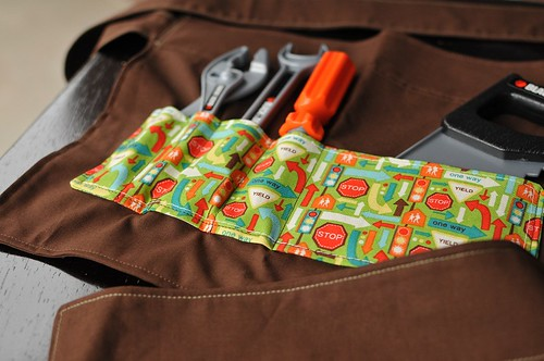Child's tool belt apron