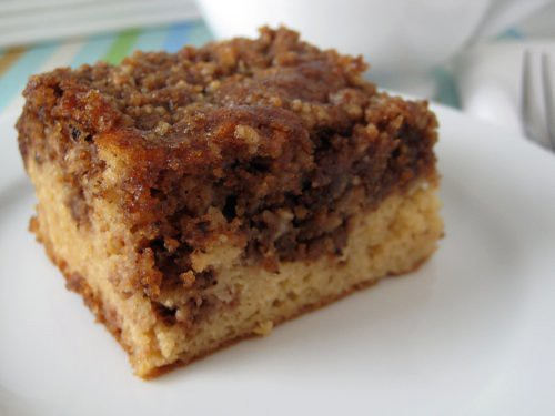 Coffee Cake - grain-free, sugar-free