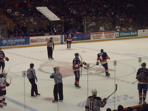 Albany Devils vs. Bridgeport Sound Tigers - December 28, 2010. Albany Devils vs. Bridgeport Sound Tigers - December 28, 2010