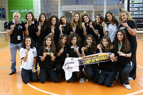 Iniciadas Campeãs Nacionais Voleibol - Triunfo 2010