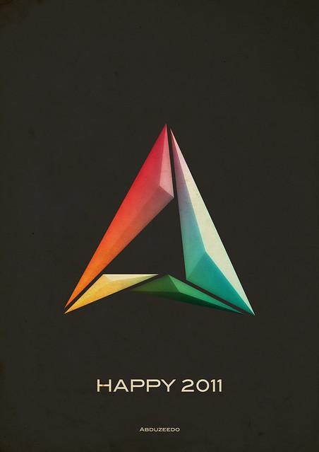 Abduzeedo 2011 Poster