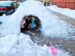 Major Winter Storm smacks NYC right in the Kisser (weissfoto) Tags: nyc winter test usa snow newyork brooklyn us eskimos blizzard igloo majorwinterstorm blizzard2010 theboxingdayblizzard empireblvdcanong10
