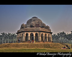 Mohammed Shah's tomb, Lodi Gardens, New Delhi (Mukul Banerjee (www.mukulbanerjee.com)) Tags: old light india art heritage history monument stone architecture photo ancient nikon ruins asia arch pics indian muslim islam prayer pray mahal arches palace images mosque mausoleum photographs empire historical sultan dslr archeology hdr palaces visualart emperor medival bharat newdelhi islamic lodhi lodi d60 sigma1020mm lodigardens historicalindia nikond60 mywinners indianheritage hindusthan earthasia medivalindia bymukulbanerjee mukulbanerjee mukulbanerjee mukulbanerjeephotography mukulbanerjeephotography wwwmukulbanerjeecom