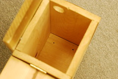 Night glider: flying squirrel roosting box