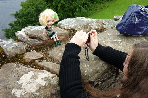 Doll Across Loch Ness