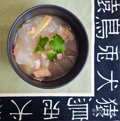 winter melon soup'