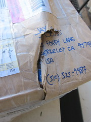 DHL damages the goods