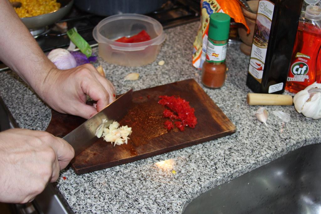 Ajo y Ají picante