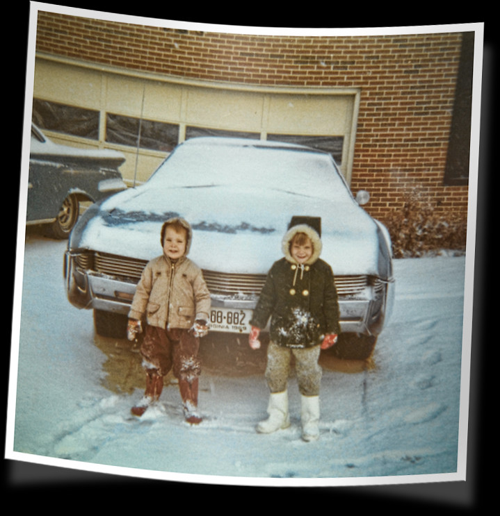 snowy 65 oldsmobile tornado