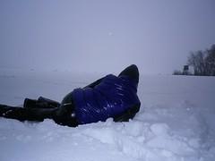 IMGP0053 (Karhu1) Tags: schnee snow shiny jacket nylon snowsuit jacke overall skianzug