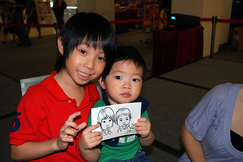 digital caricature live sketching @ Liang Court - day 3 - 4b