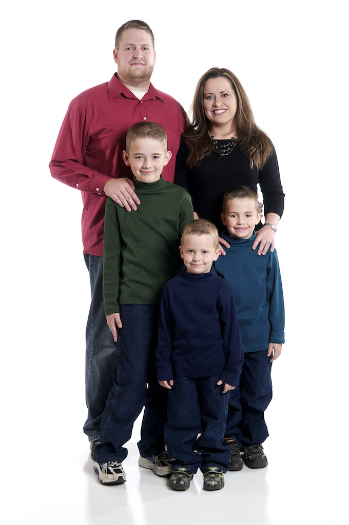 The Wright Family, Dec 2010