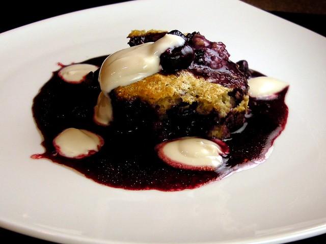 cherry cobbler with self-rising flour
