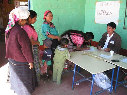 The consulta - Huitán, Guatemala
