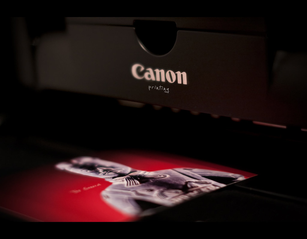 Day 151, 151/365, Project 365, Bokeh, canon, printer, Sigma 50mm F1.4 EX DG HSM, 50mm, project365