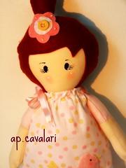 Anita baby (AP.CAVALARI / ANA PAULA) Tags: baby kids doll bebe boneca anita decorao tecido bonecadepano fabricdoll anapaulacavalari apcavalari