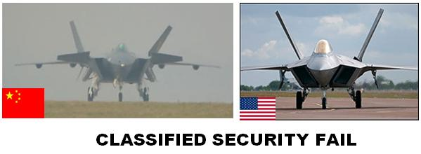 Classified Security Fail