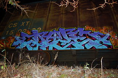 DAZE (daze tn) Tags: art train graffiti birmingham tn alabama spraypaint boxcar alphabet freight daze spraycan traingraffiti csx nsa rtm dazetn