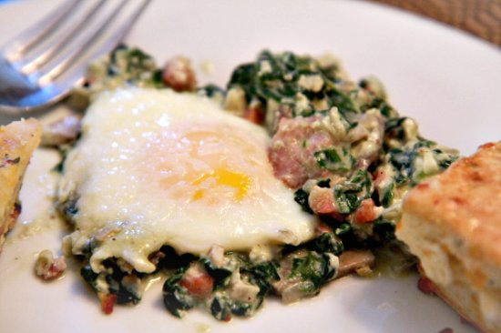 Baked Eggs 550