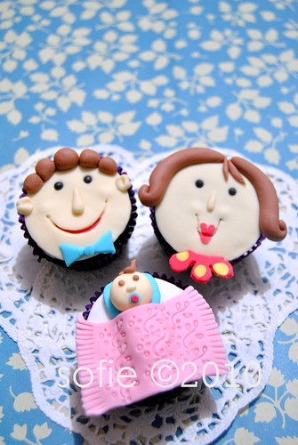 family cupcake