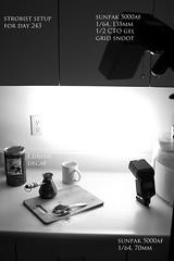 strobist setup for day 243 (photonyx) Tags: setup strobist photonyx