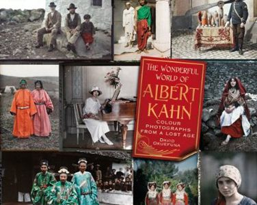 Portada del libro The Wonderful World of Albert Kahn de David Okuefuna (BBC)