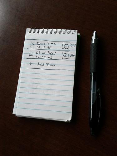 Notepad Mockups