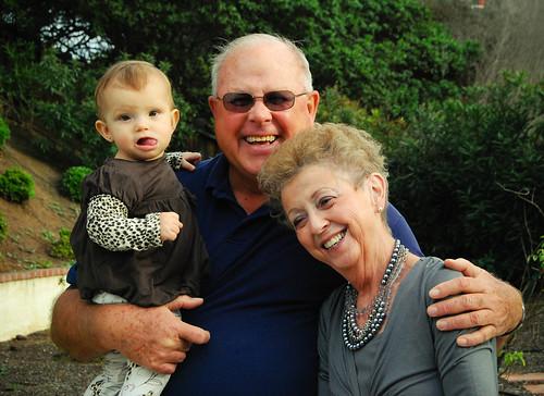 Una foto con los abuelos...