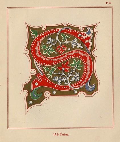 005- Medieval Alphabets and Initials 1886- F.G. Delamotte- Copyright 2006 illuminated-book.com& libros-iluminados.com