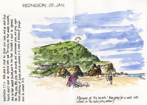 110105 Camp-03 Stanwell Park Beach