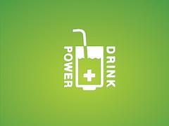 Power Drink (Rafal Leszczynski) Tags: logo design graphicdesign symbol ci brand branding logodesign corporateidentity