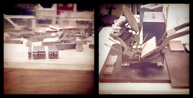 letterpress kelsey excelsior 3x5