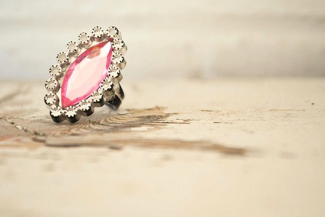 ordinary beauty: costume ring