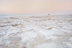 (eriwst) Tags: schnee winter sunset snow seascape cold ice beach strand denmark dawn frozen frost alone sonnenuntergang leer northsea kalt eis dnemark nordsee weite einsam 2011 allein gefroren 35mmf2d breadth 01012011 geo:lat=5513942566753102 geo:lon=8477006819299303