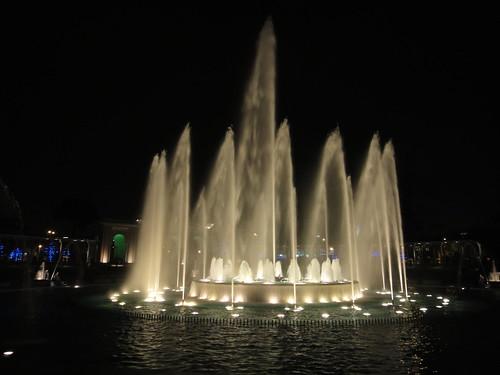 Fountain in Parque de La Reserva