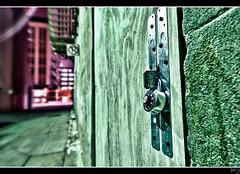 Lockdown (RYoungFoto) Tags: arizona detail phoenix alley nikon downtown bokeh lock young rick abandon nik tamron lawyer hdr onone topaz lazarus adjust urbex 1024 cs4 d90 lockdown greatphotographers dfine colorefex rickthelawyer rfoto ryoungphotog hdrefex ryoungfoto ryoungfotocom