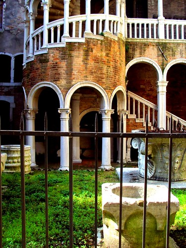 Budapest to Venice Attractions Sights St Mark's Square Scala Contarini del Bovolo