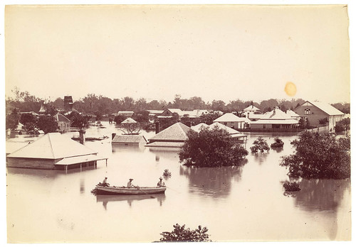 Floods at Grafton, 11 March 1890