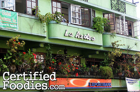 La Azotea along Session Road in Baguio City where you'd find Oh My Gulay - CertifiedFoodies.com